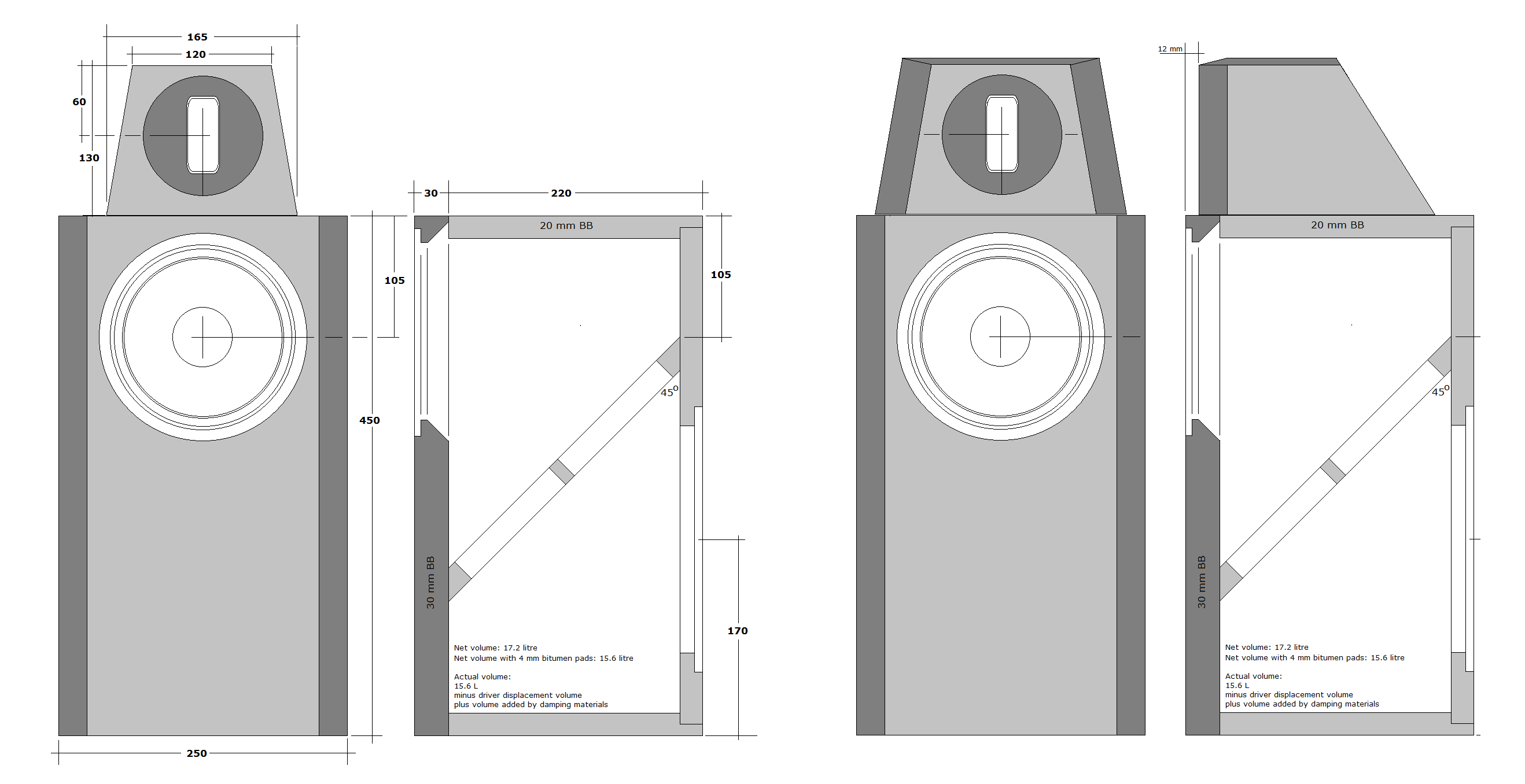 Atiri Speaker Crossover Work Additionally Lifier Diagram As Well The Tweeter Front Panel Must Have Dimensions Shown On Drawing To Left Whats Behind Is Fully Up You