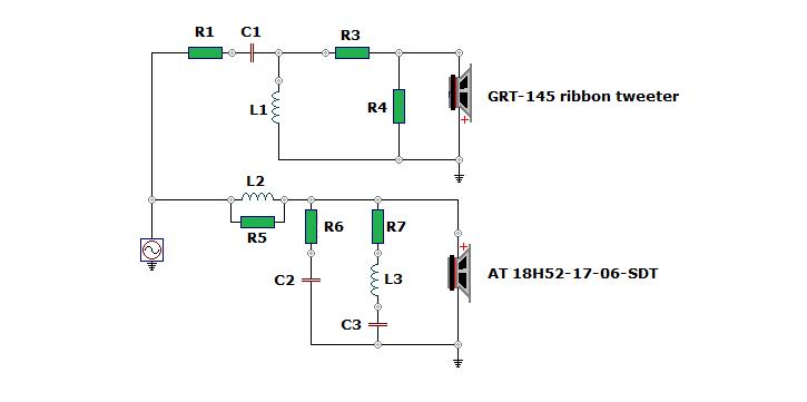 ATiRi  Nd Order Crossover Way Wiring Diagram on