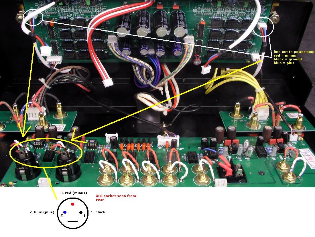 Jungsonja88d 09 High End Power Amplifier Wiring Circuit Modifying Jungson Ja88d To Amp Only