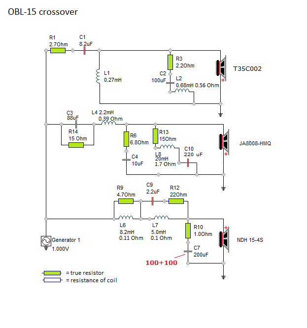 OBL-15  Ohm Speaker Wiring Diagram Sax D on