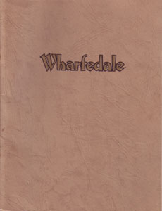 Wharfedale 1962 brochures and handouts